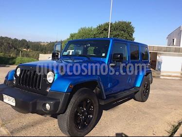 Foto venta Auto Usado Jeep Wrangler Unlimited 2.8 Diesel 5P (2015) color Azul precio $21.490.000