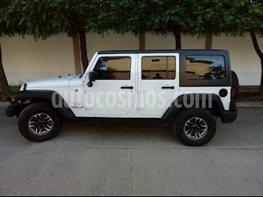 Foto venta Auto Seminuevo Jeep Wrangler Unlimited JK Sport 4x4 3.6L Aut (2015) color Blanco precio $415,000
