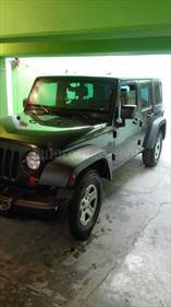 Foto venta Auto Seminuevo Jeep Wrangler Unlimited X 4x2 3.8L Aut (2010) color Verde Natural precio $215,000