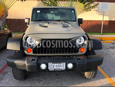 Foto venta Auto usado Jeep Wrangler Unlimited X 4x2 3.8L Aut (2007) color Verde precio $335,000