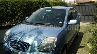 Foto venta Auto usado Kia Morning EX 1.1L Dh (2007) color Azul Celeste precio $3.000.000