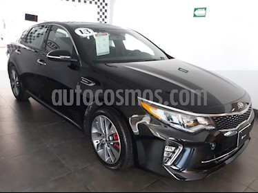 Foto venta Auto Usado Kia Optima 2.0L Turbo GDI SXL (2018) color Negro precio $425,000
