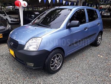 Foto venta Carro usado KIA Picanto 1.1 EX Mec 5P (2006) color Azul precio $16.800.000