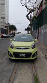 KIA Picanto 1.1L LX usado (2014) color Verde Citrus precio u$s9,000