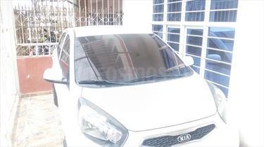 KIA Picanto 1.2L Full Aut usado (2013) color Blanco precio $24.500.000