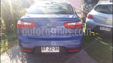 Kia Rio 4 1.4L EX DAB usado (2012) color Azul precio $5.200.000