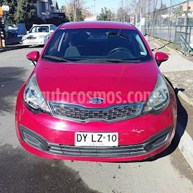 Kia Rio 4 1.4L EX Full usado (2012) color Rojo precio $5.200.000