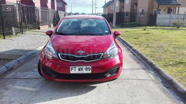Foto venta Auto usado Kia Rio 4 EX 1.4L  (2013) color Rojo precio $6.450.000