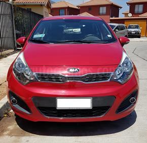 Foto venta Auto usado Kia Rio 5  EX 1.4L (2013) color Rojo Senal precio $6.500.000