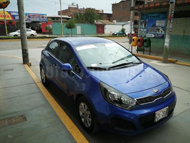 Foto venta Auto Usado KIA Rio Hatchback 1.4 EX Full (2013) color Azul Electrico precio u$s10,500