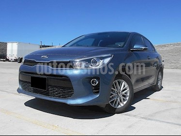 Foto venta Auto Seminuevo Kia Rio Sedan EX (2018) color Azul precio $257,000