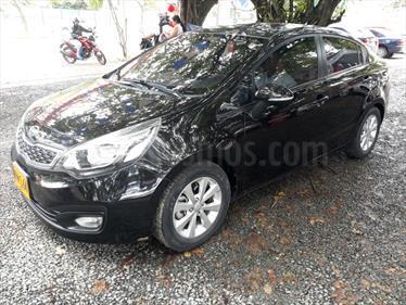 Foto venta Carro usado KIA Rio 1.4L Spice (2012) color Negro precio $37.500.000