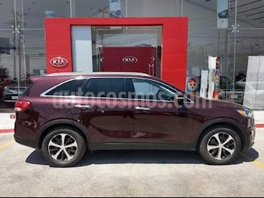 Foto venta Auto Usado Kia Sorento 3.3L EX 7 Pas (2018) color Vino Tinto precio $460,000