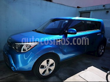 Kia Soul LX usado (2016) color Azul precio $170,000