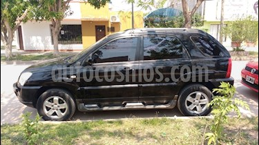 Foto venta Auto Usado KIA Sportage EX 4x4 (2009) color Negro