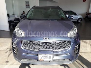 Foto venta Auto Usado Kia Sportage EX Pack 2.0L Aut (2018) color Azul Intense precio $415,000