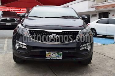 Foto venta Auto Usado Kia Sportage SXL 2.4L (2015) color Negro Cereza precio $335,000