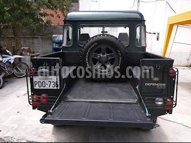 Foto venta Auto usado Land Rover Defender 110 Pu Td5 L4,2.5i,8v S 2 3 (2002) color Negro precio u$s9.200
