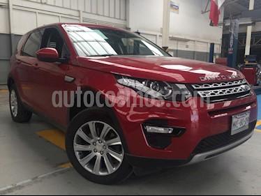 Foto venta Auto usado Land Rover Discovery Sport HSE (2015) color Rojo precio $525,000