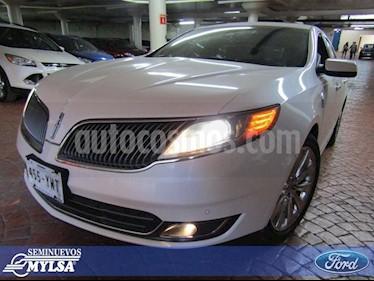 Foto venta Auto Usado Lincoln MKS 3.5L Aut Ecoboost  (2013) color Blanco precio $275,000