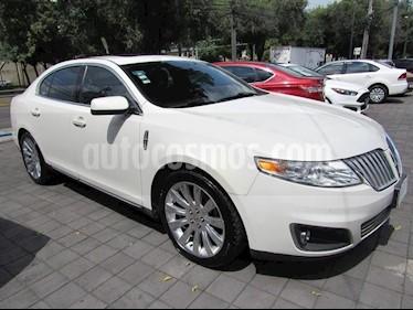 Foto venta Auto Usado Lincoln MKS 3.5L Aut Ecoboost  (2012) color Blanco precio $235,000