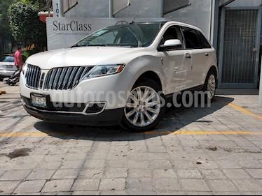Foto venta Auto usado Lincoln MKX 3.7L 4x4 (2013) color Blanco precio $294,850