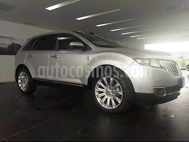 Foto venta Auto Seminuevo Lincoln MKX 3.7L 4x4 (2015) color Gris Piedra precio $420,000
