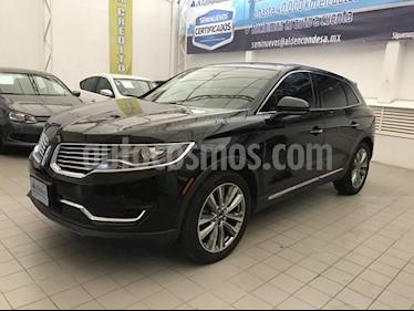 Foto venta Auto Seminuevo Lincoln MKX RESERVE  AWD (2016) color Negro precio $538,000