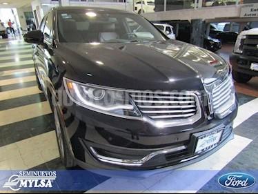 Foto venta Auto Seminuevo Lincoln MKX RESERVE  AWD (2016) color Negro precio $465,000