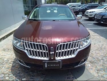 Foto venta Auto Seminuevo Lincoln MKZ Premium V6 (2012) color Canela precio $195,000