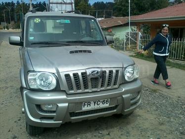 Foto venta Auto usado Mahindra Scorpio 2.2L 4x2 Full (2013) color Plata precio $7.400.000