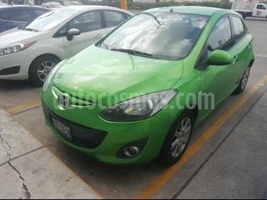 Foto venta Auto Seminuevo Mazda 2 Touring Aut (2012) color Verde precio $117,000