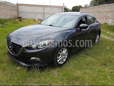 Foto venta Auto Seminuevo Mazda 3 Sedan i Touring (2015) color Gris Meteoro precio $184,000
