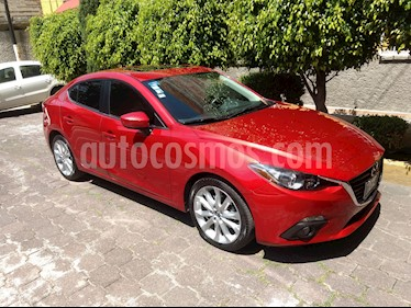 Foto venta Auto Usado Mazda 3 Sedan s Aut (2015) color Rojo precio $250,000