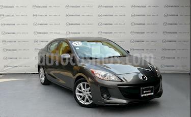 Foto venta Auto Usado Mazda 3 Sedan s (2012) color Grafito precio $160,000
