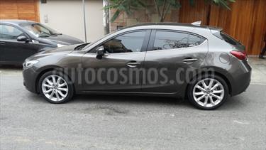 Mazda 3 Sport 2.5L High  usado (2016) color Gris Titanio precio $16,800