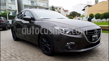 Mazda 3 Sedan Hatchback 1.6 Aut Full usado (2014) color Gris precio u$s13,750