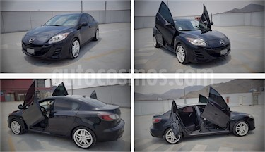 Mazda 3 Sedan Sedan 1.6 Mec Deluxe usado (2009) color Negro precio u$s9,500