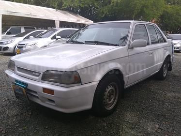 Foto venta Carro usado Mazda 323 NS 1300 (1990) color Blanco precio $7.000.000