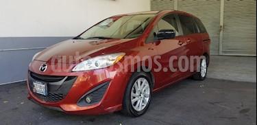 Foto venta Auto Usado Mazda 5 2.5L Sport (2015) color Rojo precio $209,900