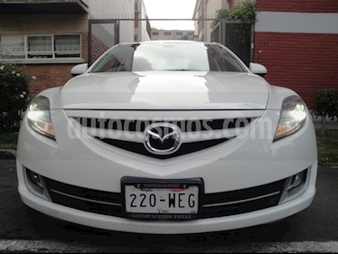 Foto venta Auto Usado Mazda 6 i Grand Touring Aut (2009) color Blanco precio $89,000