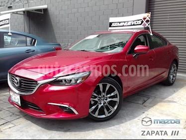 Foto venta Auto Seminuevo Mazda 6 i Grand Touring Aut (2018) color Rojo Sangria precio $390,000