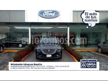 Foto venta Auto Usado Mazda CX-3 Grand Touring (2017) color Gris precio $259,000