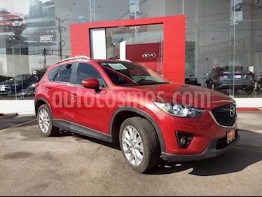 Foto venta Auto Usado Mazda CX-5 2.5L S Grand Touring 4x4 (2015) color Rojo precio $279,000