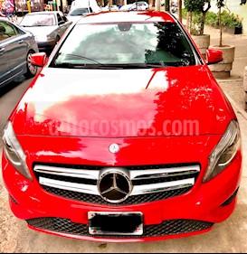 Foto venta Auto Usado Mercedes Benz Clase A 200 CGI Aut (2015) color Rojo precio $325,000