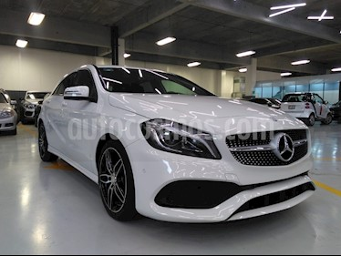 Foto venta Auto Usado Mercedes Benz Clase A 200 CGI Sport Aut (2017) color Blanco precio $510,000