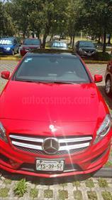 Foto venta Auto Usado Mercedes Benz Clase A 200 CGI (2015) color Rojo Jupiter precio $450,000