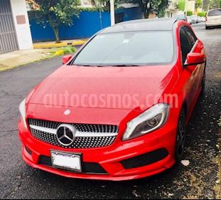 Foto venta Auto usado Mercedes Benz Clase A 250 CGI Sport Aut (2013) color Rojo Jupiter precio $310,000