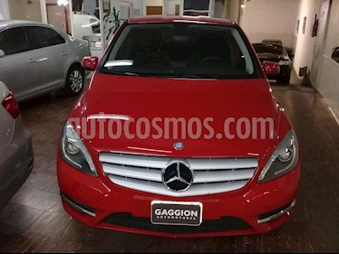 Foto venta Auto Usado Mercedes Benz Clase B 200 City  (2013) color Rojo Jupiter