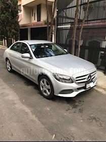 Foto venta Auto Seminuevo Mercedes Benz Clase C 180 CGI Aut NAV (2016) color Plata precio $370,000